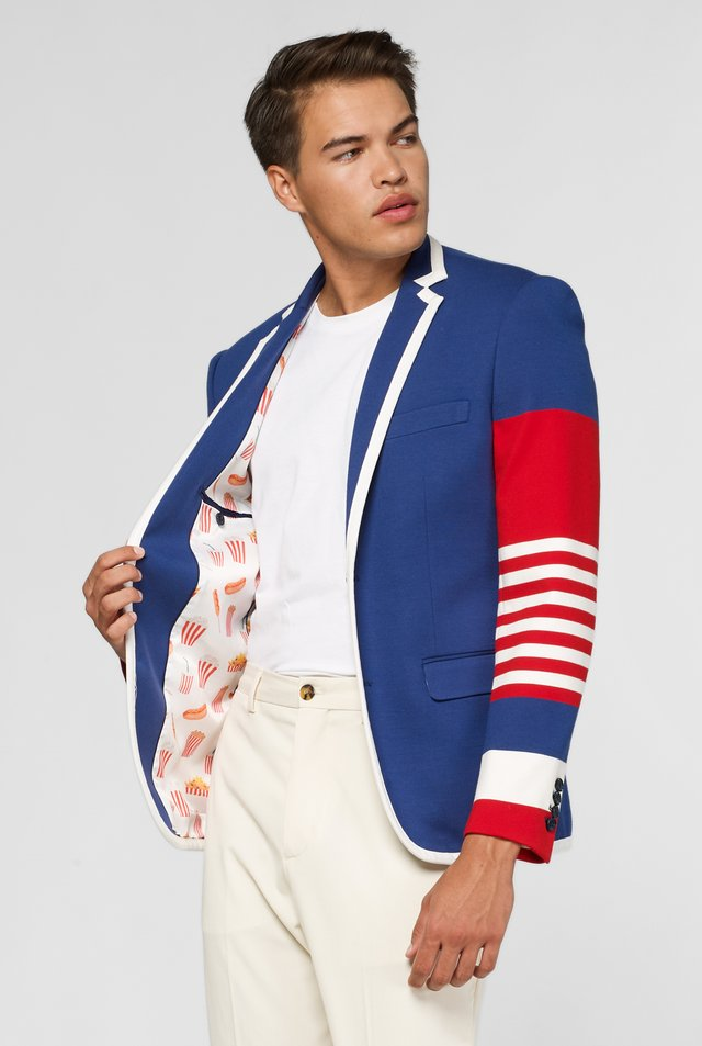 DANDY FAN - Blazer - blue