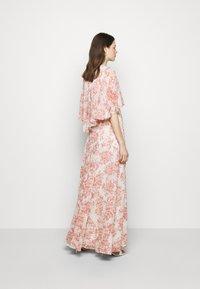 Lauren Ralph Lauren - PRINTED CRINKLE LONG - Occasion wear - colonial cream/pink - 2