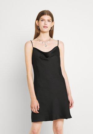 SIRI MINI COWLNECK DRESS - Robe de soirée - black