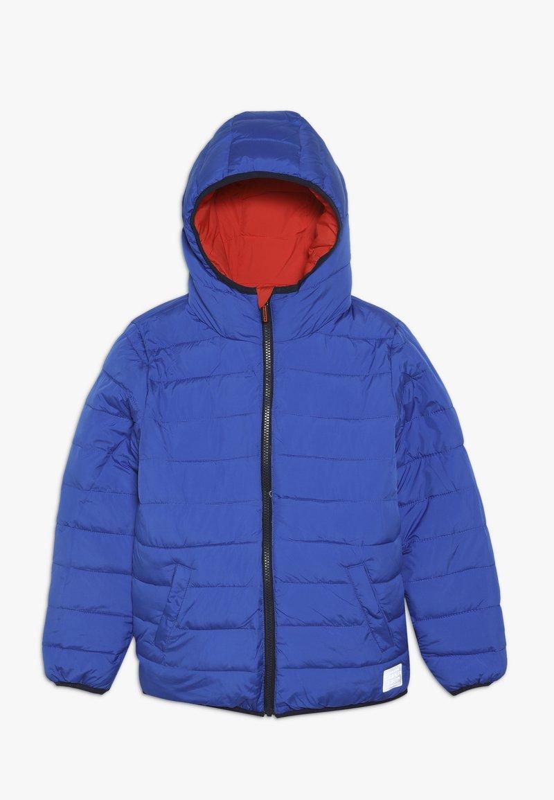 Superdry - REVERSIBLE FUJI - Winter jacket - fire orange/cobalt