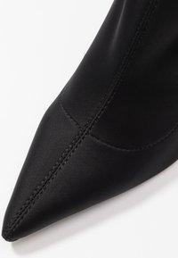 RAID - PRESCA - Botines de tacón - black - 2