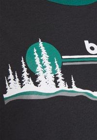 Burton - CARLOW TEE - T-shirts med print - true black - 2