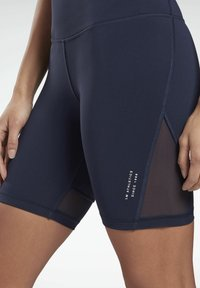 Reebok - LES MILLS® BEYOND THE SWEAT BIKE SHORTS - Shorts - blue - 3