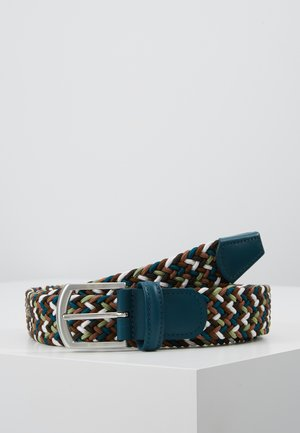STRECH BELT UNISEX - Braided belt - multicoloured