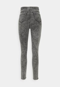 Missguided Tall - VICE BUTTON UP - Jeans Skinny Fit - grey - 1