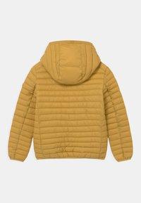 Save the duck - EVAN HOODED UNISEX - Light jacket - ochre yellow - 1