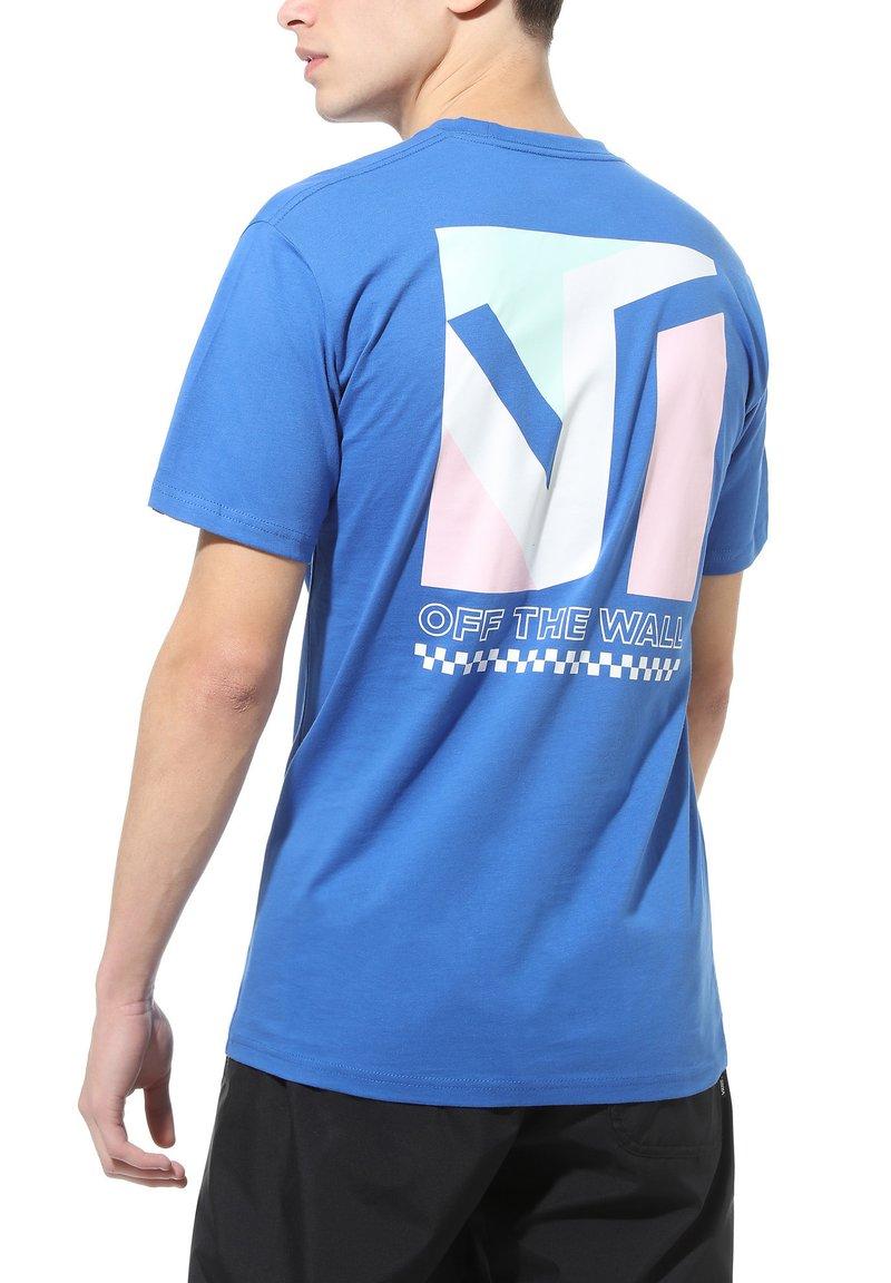 Vans - MN DIMENSIONS SS - Print T-shirt - royal blue