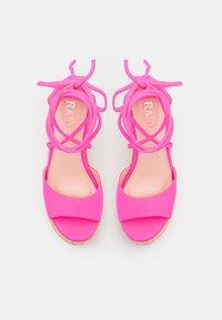 RAID - MAREA - High heeled sandals - pink - 5
