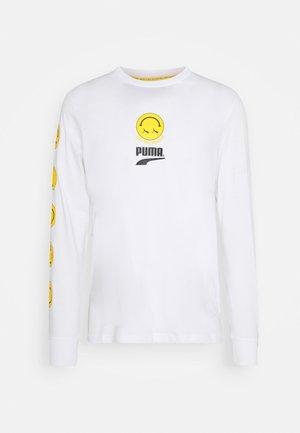 CLUB LONGSLEEVE TEE UNISEX - T-shirt à manches longues - white