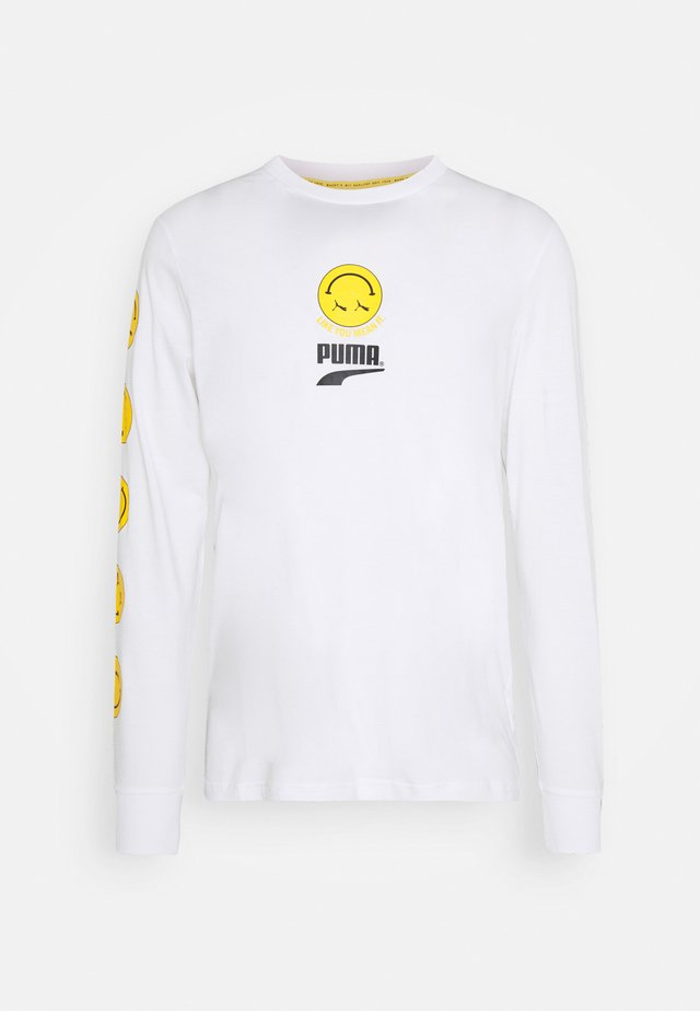 CLUB LONGSLEEVE TEE UNISEX - Long sleeved top - white
