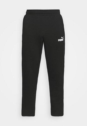 LOGO PANTS - Verryttelyhousut - black