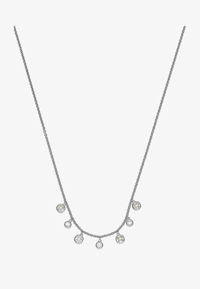 C-COLLECTION  - Necklace - silver-coloured
