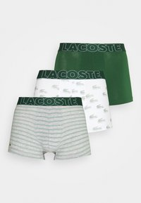 Lacoste - 3 PACK - Pants - green/silver chine/white - 5
