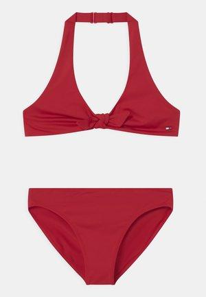 TRIANGLE SET - Bikini - primary red