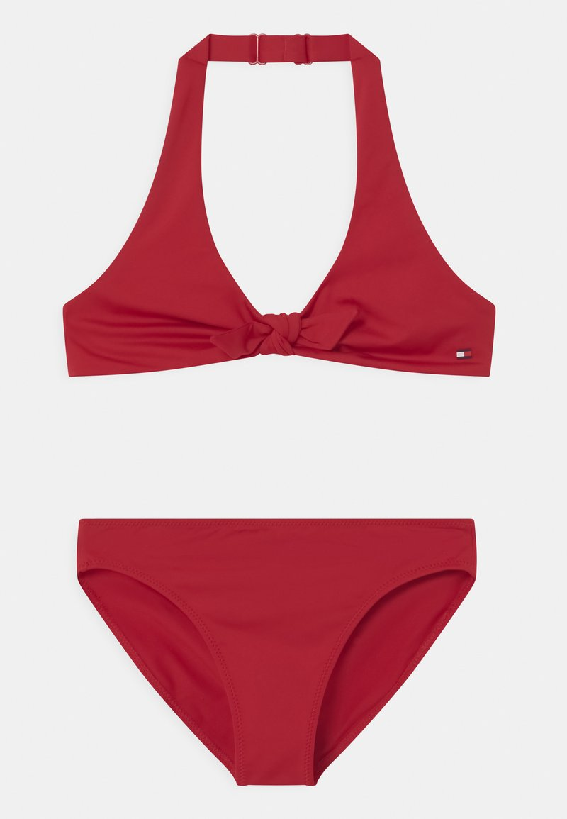 Tommy Hilfiger - TRIANGLE SET - Bikini - primary red