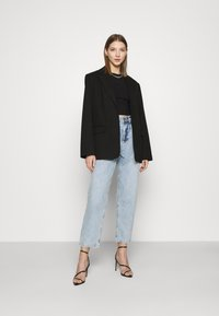 KENDALL + KYLIE - BALLOON PANTS - Jeansy Relaxed Fit - medium wash - 1