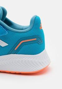 adidas Performance - RUNFALCON 2.0 UNISEX - Neutral running shoes - solar blue/footwear white/hazy blue - 5