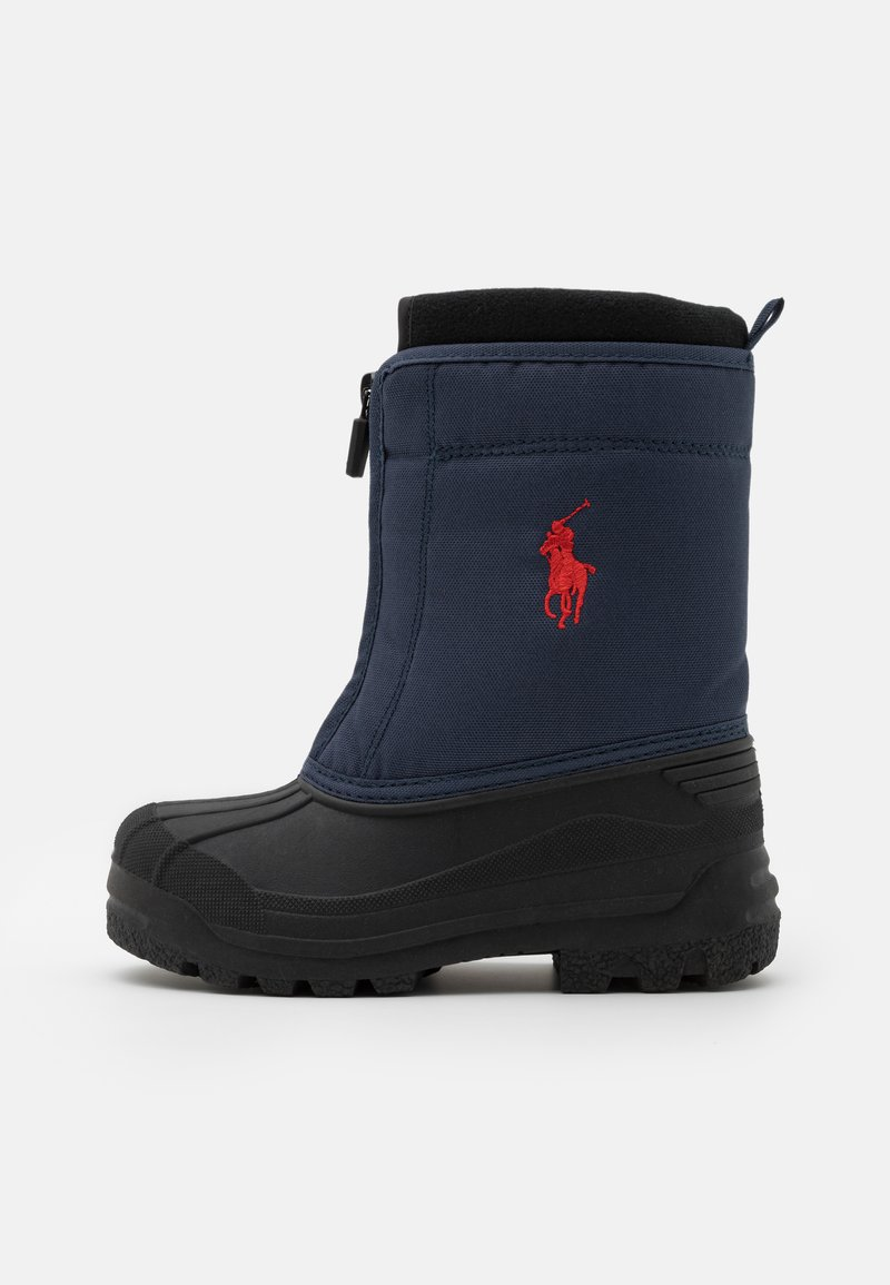 Polo Ralph Lauren - QUILO ZIP UNISEX - Zimní obuv - navy/red