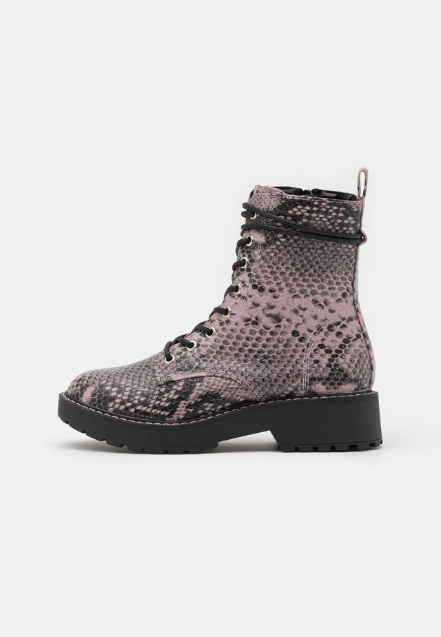 JTORNADO - Lace-up ankle boots - blush