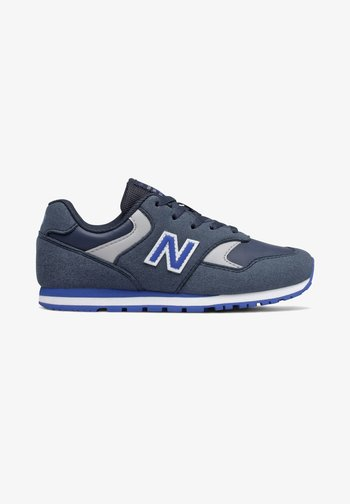 Trainers - natural indigo/cobalt blue
