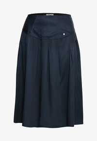 Sheego - Pleated skirt - nachtblau - 5