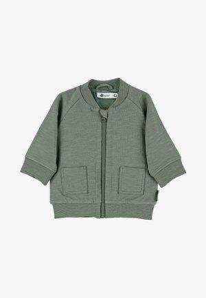 Zip-up hoodie - dunkelgrün