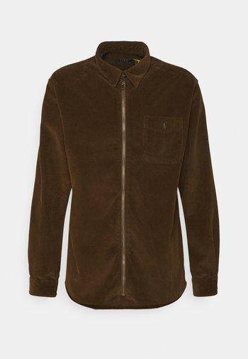LONG SLEEVE SPORT - Shirt - cooper brown