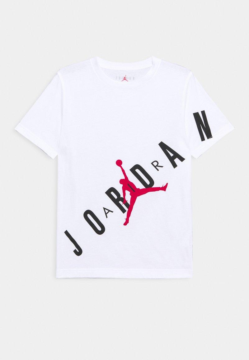 Jordan - STRETCH UNISEX - Print T-shirt - white