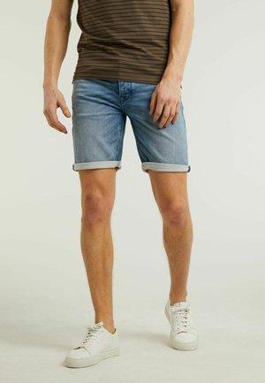 EGO.S VOLTAGE - Denim shorts - blue