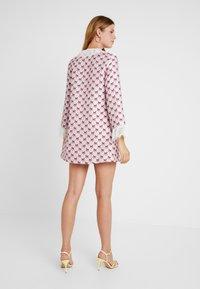 Sister Jane - FOAL RUFFLE MINI DRESS - Shirt dress - pink - 3