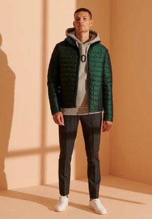 Winter jacket - enamel green