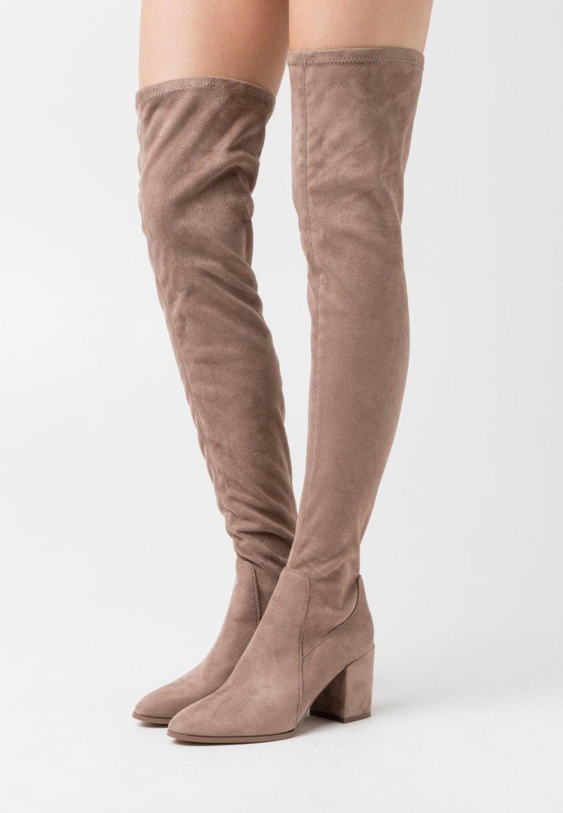 Even&Odd - Høye støvler - taupe