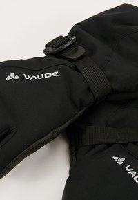 Vaude - KIDS SNOW CUP GLOVES - Rukavice - black - 3