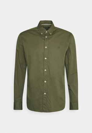 BUTTON DOWN LONG SLEEVE INSERTED - Košile - aged oak