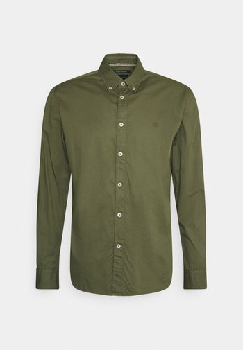 BUTTON DOWN LONG SLEEVE INSERTED