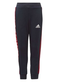 adidas Performance - KNIT JOGGERS - Tracksuit bottoms - blue - 0