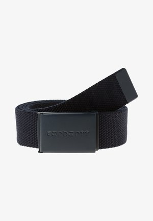 CLIP - Belt - dark navy