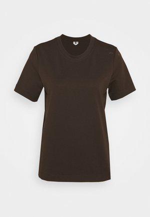 PETUNIA  - Basic T-shirt - brown dark