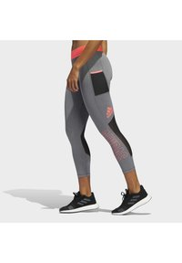 adidas Performance - ALPHASKIN 7/8 LEGGINGS - Medias - grey - 3