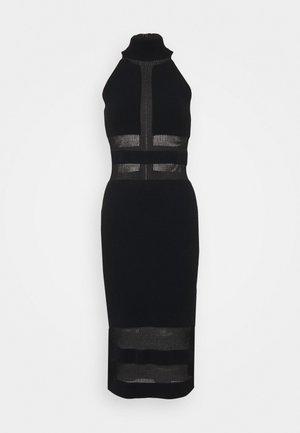 HERVE LEGER X JULIA RESTOIN ROITFELD HALTER COLUMN DRESS - Cocktail dress / Party dress - black