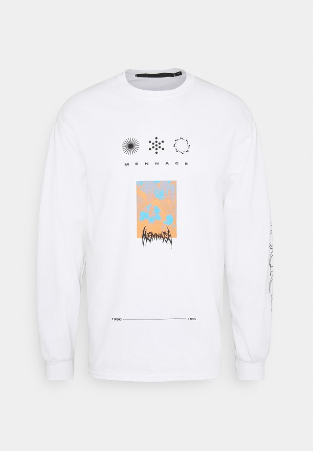 UNISEX SYMBOL - Camiseta de manga larga - white