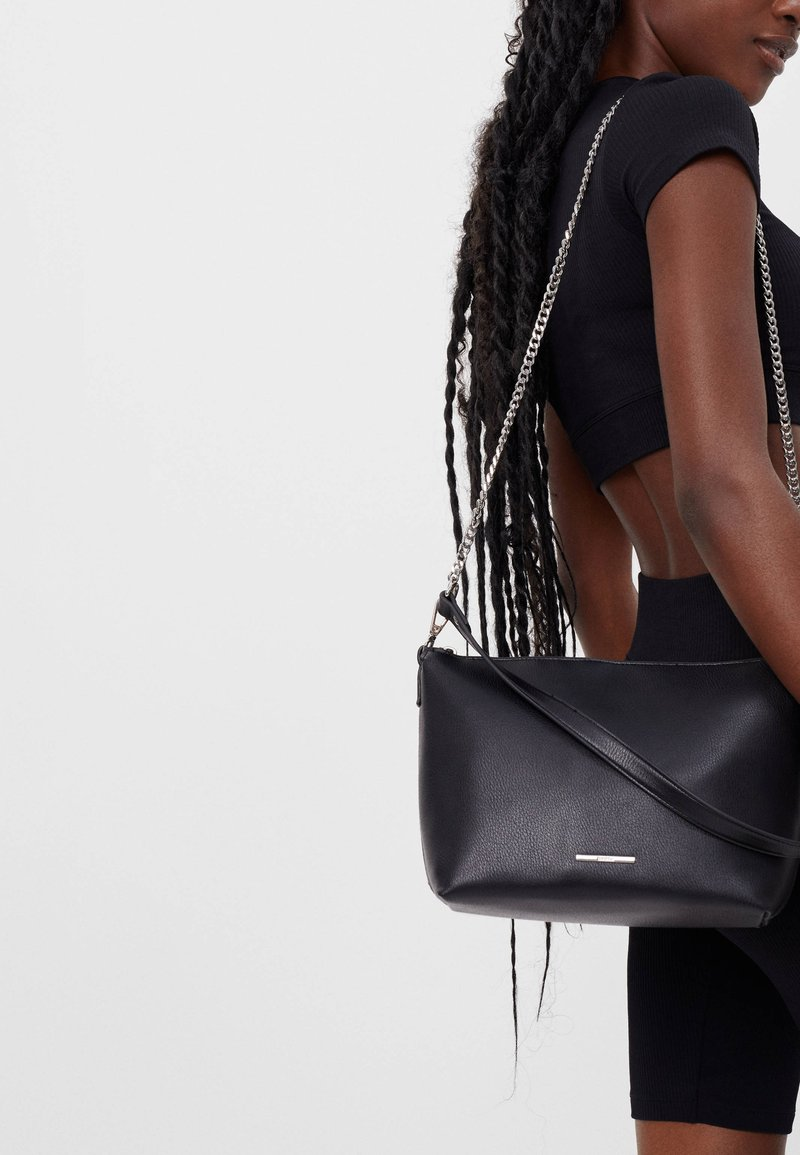 Bershka - Handbag - black