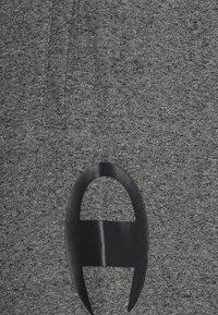 Champion - CUFF PANTS - Tracksuit bottoms - mottled dark grey - 5