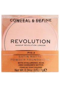Make up Revolution - CONCEAL & DEFINE POWDER FOUNDATION - Foundation - p10.2 - 4