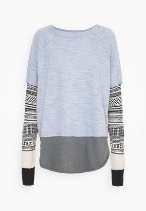 JORDAN TEE - Long sleeved top - cold weather combo