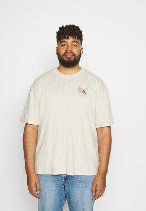 TAROT DECK - Print T-shirt - pelican/garment wash