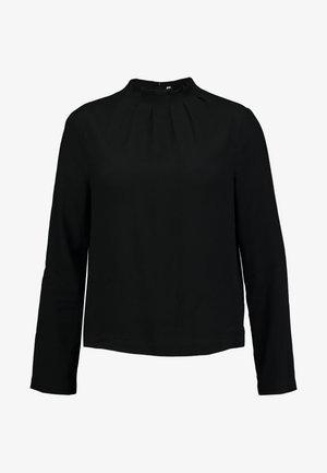 NECK DETAILED - Blouse - black