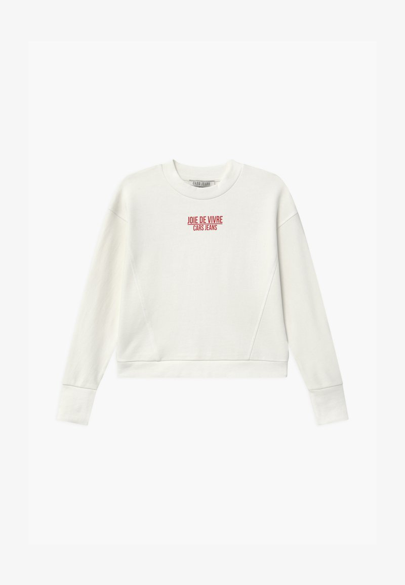 Cars Jeans - ROESIA - Sweatshirt - off white
