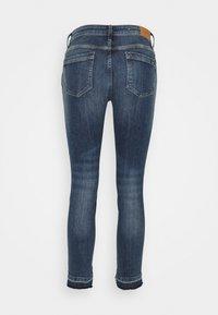 Marc O'Polo DENIM - SIV CROPPED - Jeans Skinny Fit - multi/dark blue crosshatch - 1