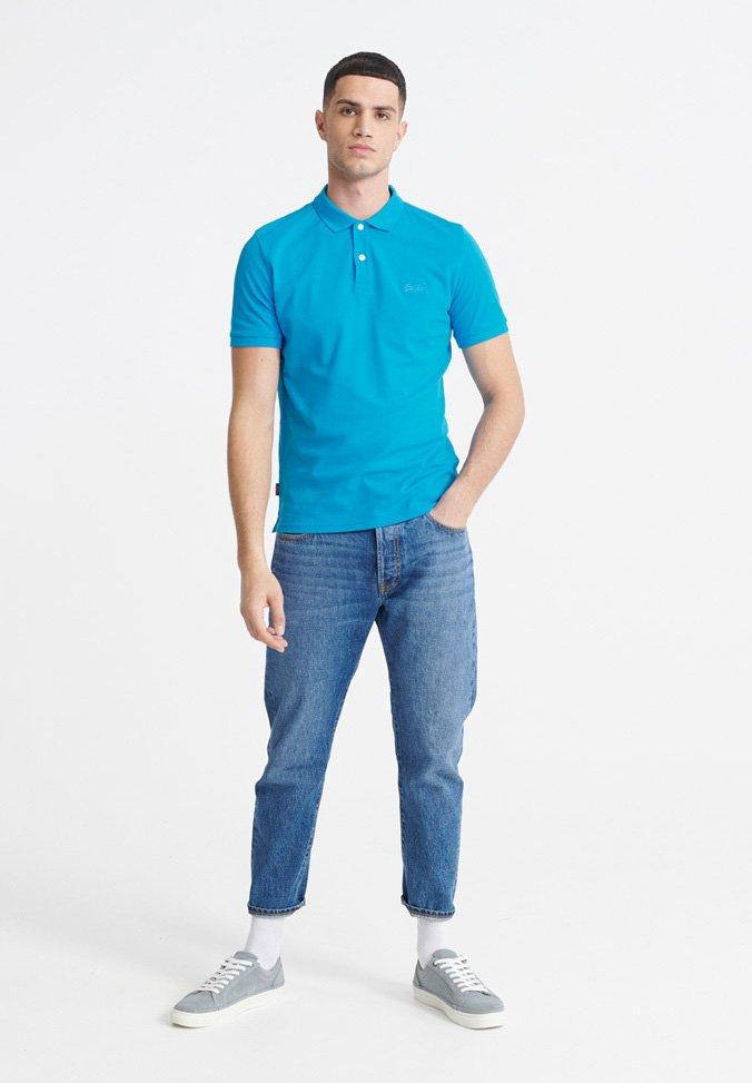 Superdry Poloshirt - electric blue/blau Wk0DSu